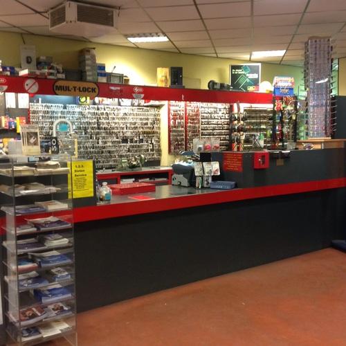 balie winkel 1.2.3. Sloten Service
